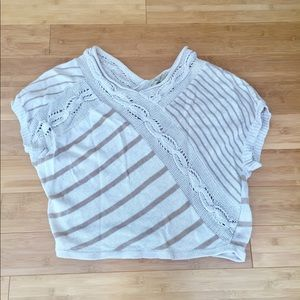 Tops - Tan cozy sweater